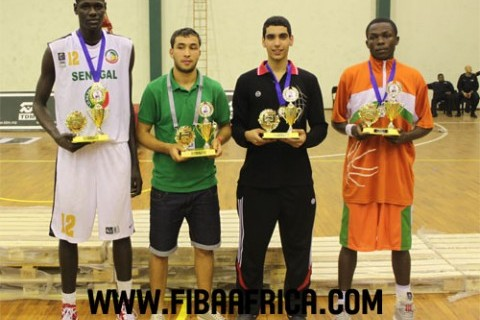 U18 AfroBasket Tournament Team