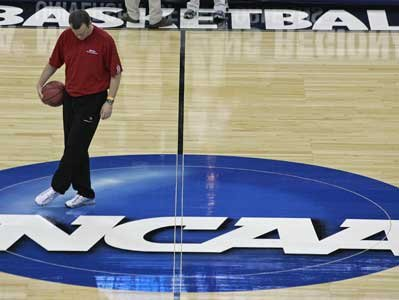 NCAA sued. Players want to get paid.