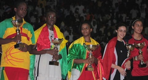 U18 AfroBasket for Women: Senegal takes title