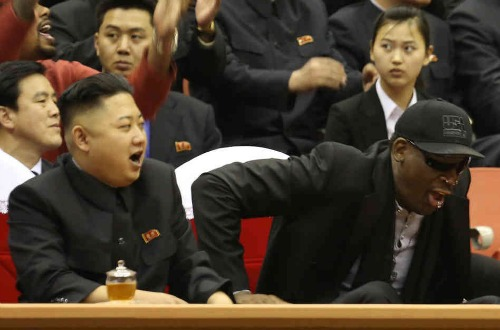 Dennis Rodman forms team vs. N. Korea