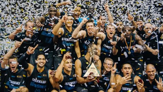 New Zealand Breakers NBL Champions