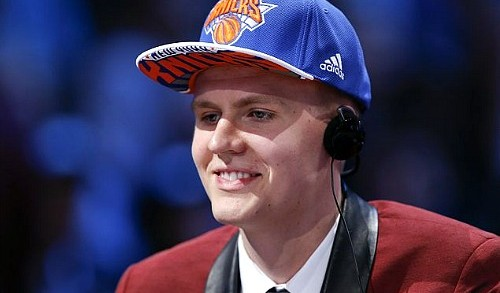 Kristaps Porzingis Drafted by The Knicks