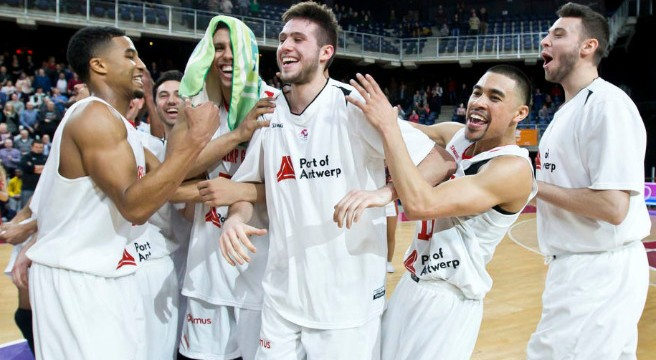 FIBA Europe Cup: Antwerp through
