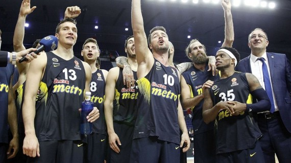 Euroleague: Fenerbahce and Vitoria sweep to Final Four