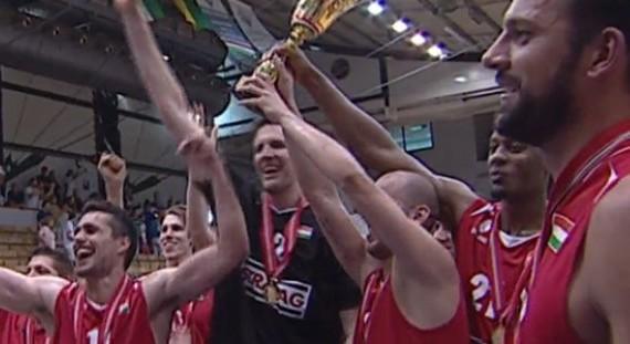 Szolnoki Olaj claims third straight Hungarian crown