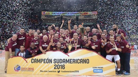 Venezuela repeats as South American champ