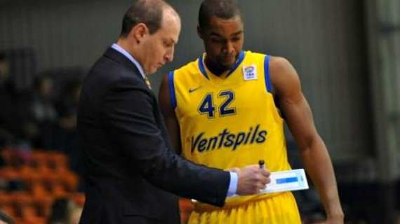 Folarin Campbell back with Ventspils