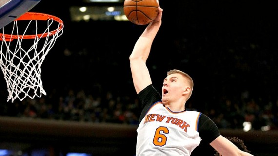 Kristaps Porzingis and the Rebuilding Knicks
