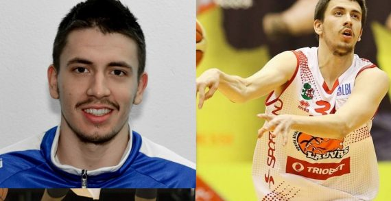 Djordje Dzeletovic deals with Tallinna Kalev