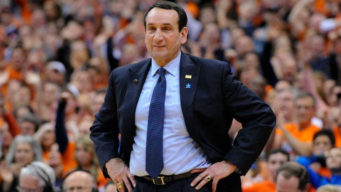 Duke's Mike Krzyzewski to retire after next season