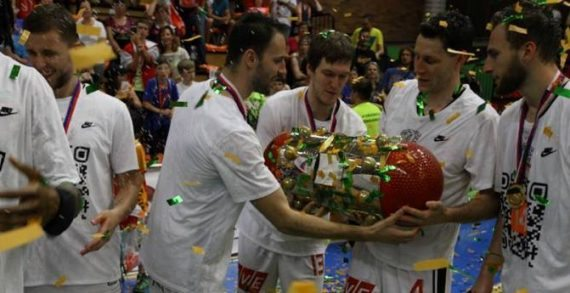 CEZ Nymburk claims 16th straight NBL title