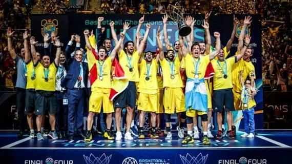 Iberostar Tenerife wins 2017 Basketball Champions League