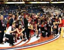 Leicester Riders win BBL crown in front of record crowd