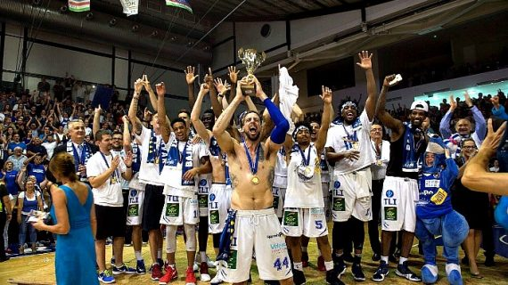 Alba Fehervar wins 2017 Hungarian League Championship