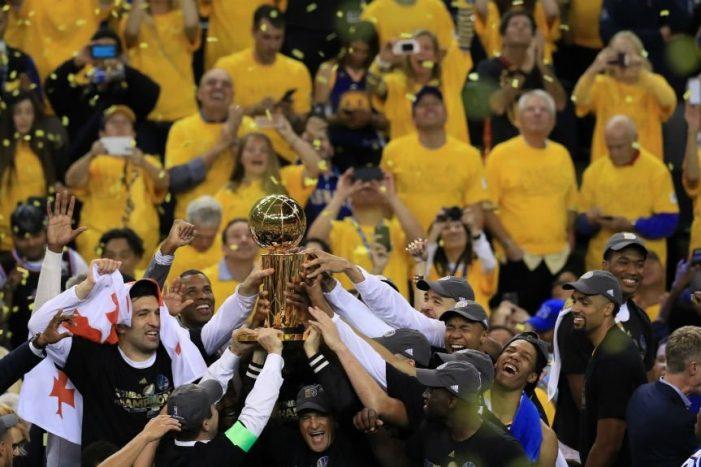 Golden State Warriors take back NBA Championship