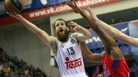 Sergio Rodriguez pens with CSKA Moscow
