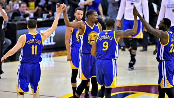 Chasing the Golden State Warriors this season