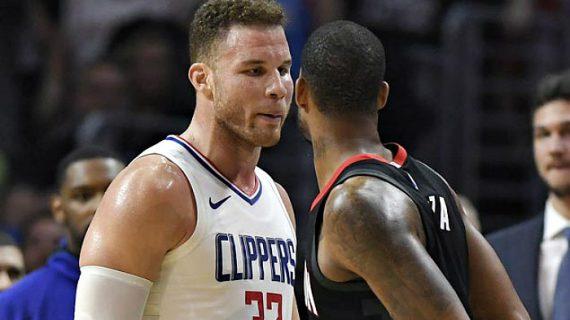 NBA: Rockets Players Invade Clippers' Locker Room