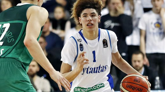 Ball Siblings Debut for Vytautas as club faces Sanctions