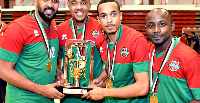 Ahli Dubai Wins 2017-18 UAE Basketball Championship