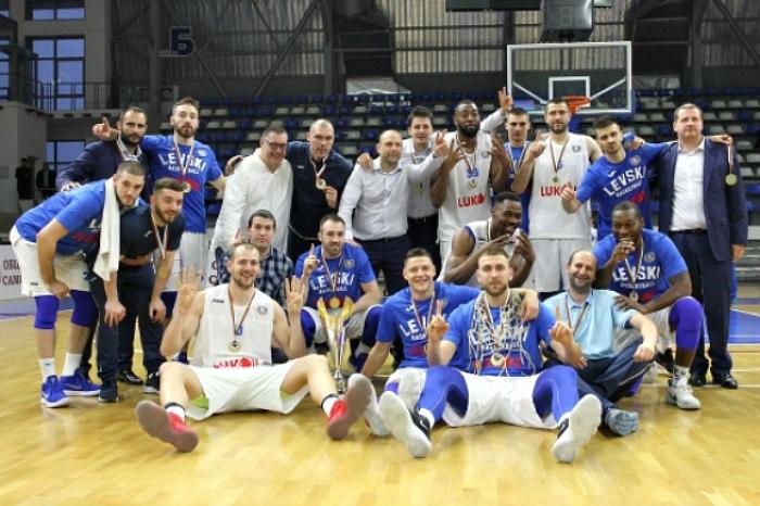 Levski Lukoil wins 2018 Balkan League Title