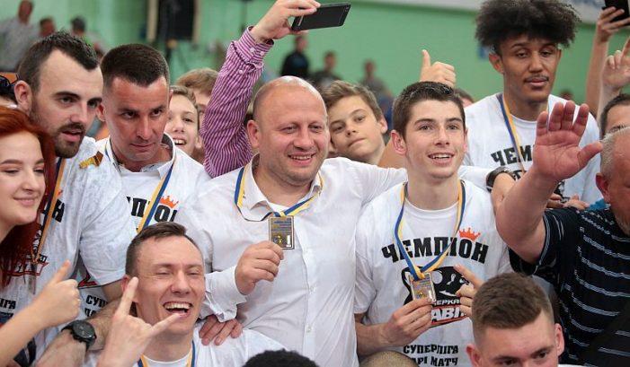 Cherkasy wins first-ever Ukraine Superleague