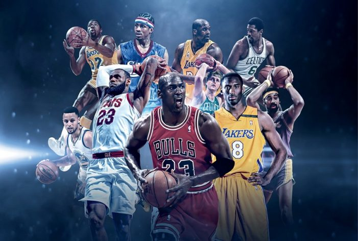 North America's all-time best NBA players