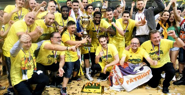 Levicki Wins Their First Slovakia SBL Championship