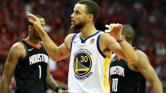 NBA: Warriors Crush Rockets 85-126, Lead Series 2-1