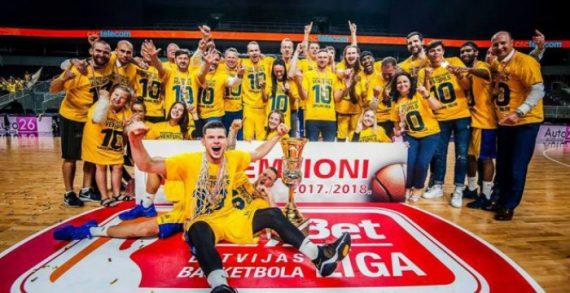 BK Ventspils Crowned 2018 LBL Champions