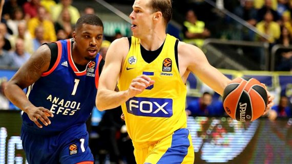 Michael Roll extends with Maccabi Tel Aviv