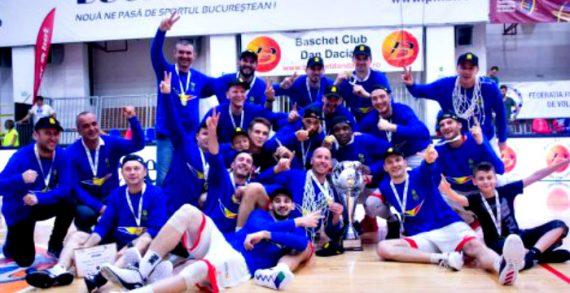 Oradea Celebrates Romanian League Title