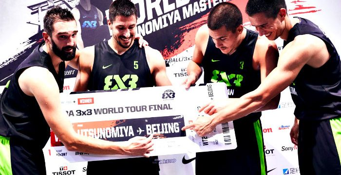 Serbia Wins Utsunomiya FIBA 3×3 World Tour 2018