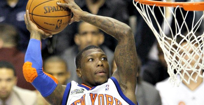 Nate Robinson deals with Homenetmen
