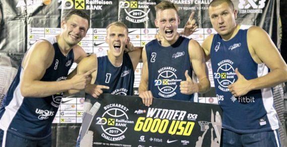 Riga Wins Bucharest FIBA 3×3 Challenger