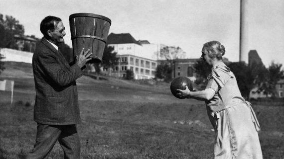 James Naismith, the founder of Basketball