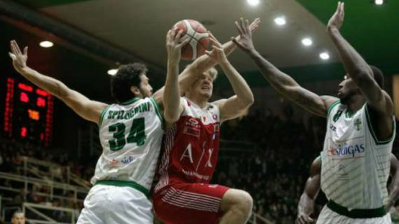 AX Armani Suffers First Loss at Serie A