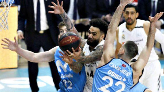 Movistar Estudiantes Trips Real Madrid at Liga ACB