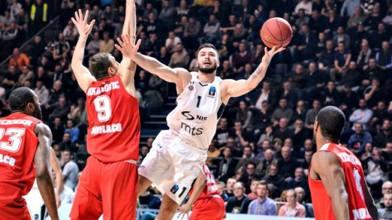 Partizan Falls to Monaco at 7Days EuroCup