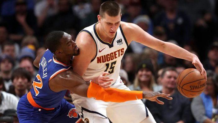 Nikola Jokic is an NBA MVP candidate