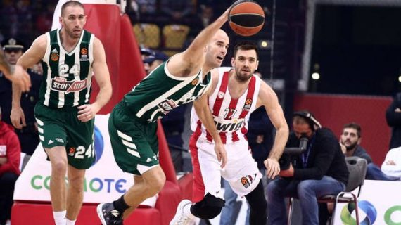 """Olympiacos triumphed in the Greek """"Clasico"""""""