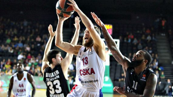 Turkish Airlines EuroLeague: CSKA Marches On