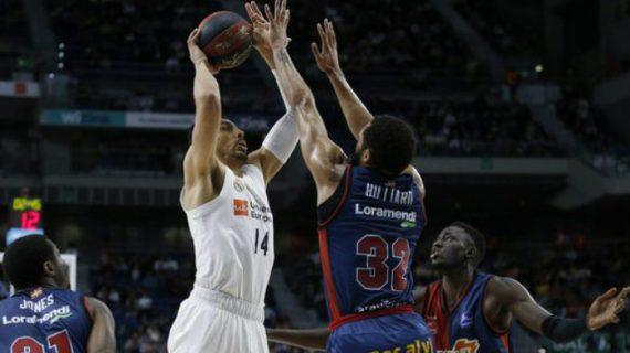Real Madrid Tops Baskonia at Liga ACB