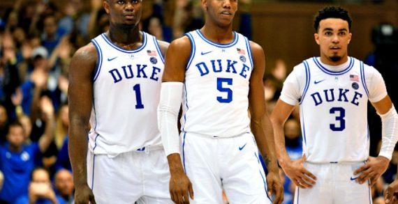 NCAA: Duke, UNC, Gonzaga, UVA Awarded Top Seeds