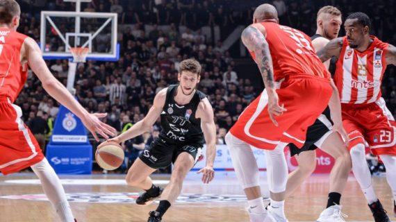 Partizan beat Crvena Zvezda and forces Game 3