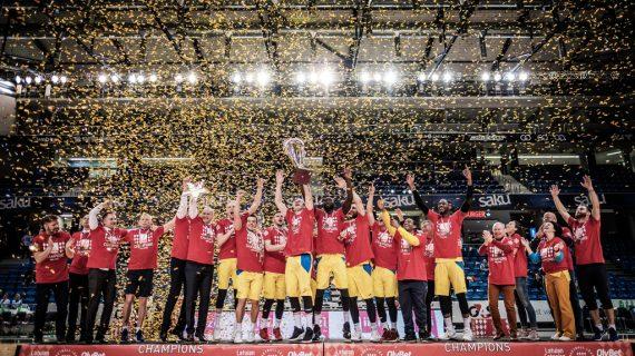 Ventspils wins inaugural Latvian/Estonian League title