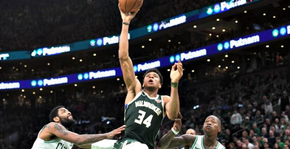 NBA Playoffs: Giannis Powers Bucks to 3-1 Lead Over Celtics