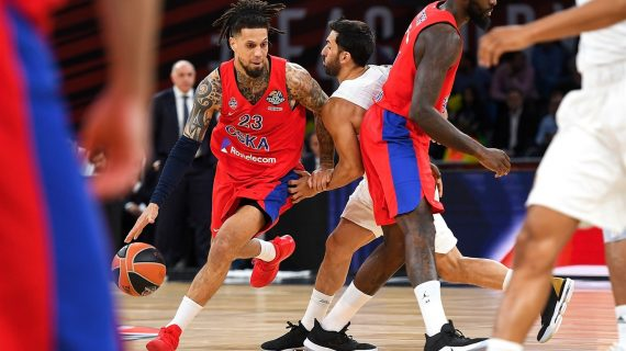 CSKA Moscow vs Anadolu Efes in the EuroLeague Championship Game