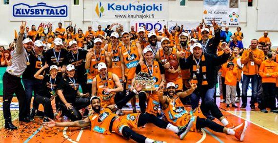 Karhu Kauhujoki wins 2019 Finnish League Title
