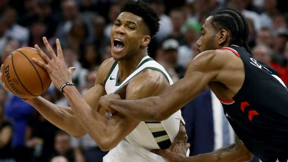 Milwaukee Bucks take a 2-0 lead over the Toronto Raptors in the Eastern Conference finals